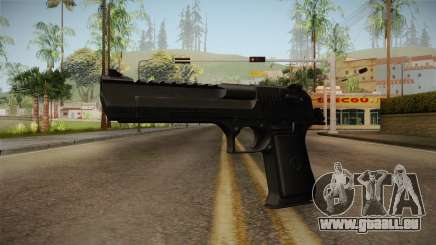 Desert Eagle Black für GTA San Andreas