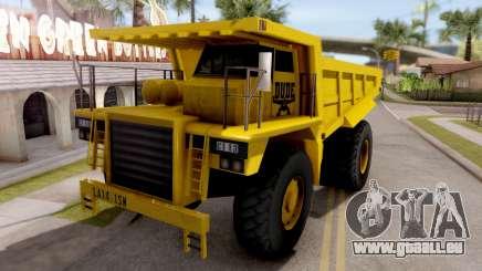 Realistic Dumper Truck für GTA San Andreas