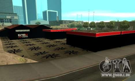 BPAN Arménie garage à SF pour GTA San Andreas huitième écran