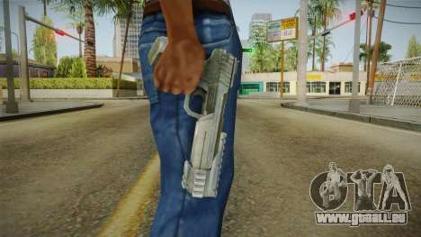 The Scourge Project - Nogaris Pistol für GTA San Andreas dritten Screenshot