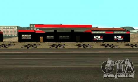 BPAN Arménie garage à SF pour GTA San Andreas onzième écran