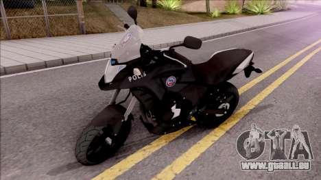 Honda CB500X Turkish Police Motorcycle pour GTA San Andreas