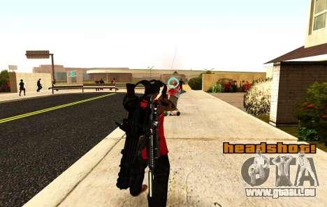 Einen neuen Blick für Gewehre und Panzerfäuste für GTA San Andreas dritten Screenshot