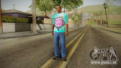 T-Shirt Bring Me The Horizon pour GTA San Andreas troisième écran