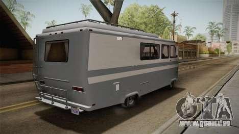 GTA 5 Zirconium Journey Cleaner IVF pour GTA San Andreas vue de droite