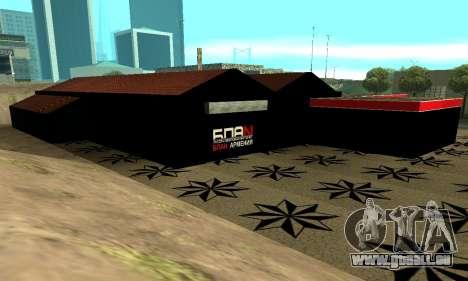 BPAN Arménie garage à SF pour GTA San Andreas quatrième écran