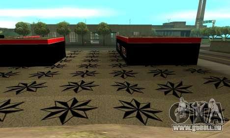 BPAN Arménie garage à SF pour GTA San Andreas cinquième écran