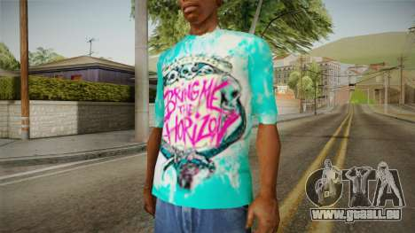 T-Shirt Bring Me The Horizon pour GTA San Andreas