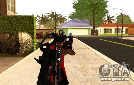 Einen neuen Blick für Gewehre und Panzerfäuste für GTA San Andreas zweiten Screenshot