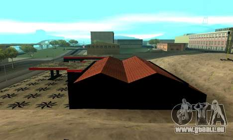 BPAN Arménie garage à SF pour GTA San Andreas septième écran