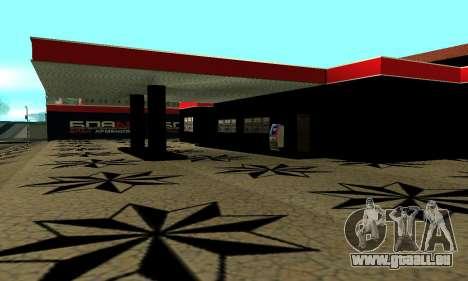 BPAN Arménie garage à SF pour GTA San Andreas neuvième écran