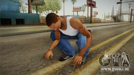 Military Animations 2016 pour GTA San Andreas cinquième écran