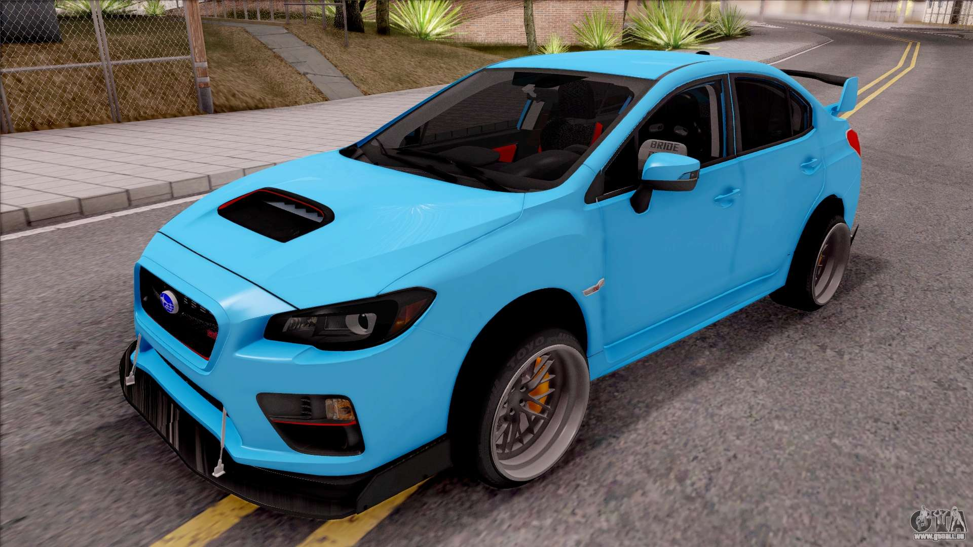 subaru wrx sti 2017 tuning pour gta san andreas. Black Bedroom Furniture Sets. Home Design Ideas