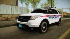 Ford Explorer 2012 YRP für GTA San Andreas