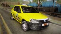 Dacia Logan Taxi für GTA San Andreas
