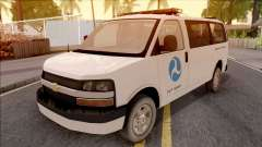 Chevrolet Express San Andreas DOT 2010 für GTA San Andreas