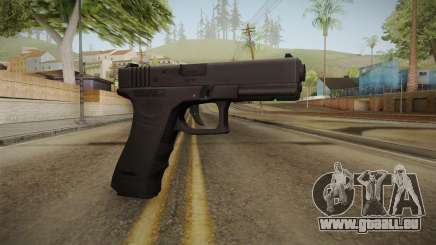 Glock 18 3 Dot Sight Cyan für GTA San Andreas