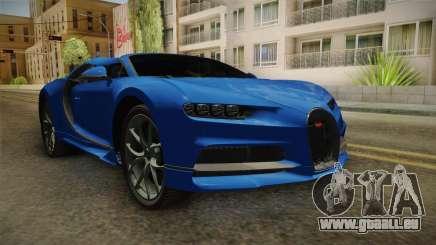 Bugatti Chiron Spyder für GTA San Andreas