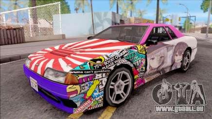 Emilia x Megumin Elegy Itasha Paintjob für GTA San Andreas