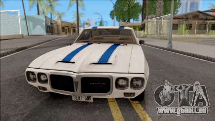 Pontiac Firebird Trans Am Coupe 1969 für GTA San Andreas