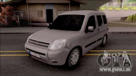 Citroen Berlingo Mk2 für GTA San Andreas