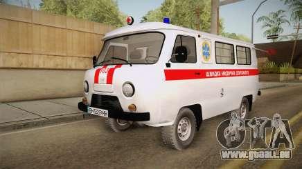 UAZ-452 Ambulance de la ville de Odessa pour GTA San Andreas