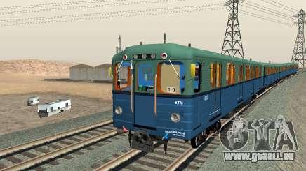 Metrostav type E pour GTA San Andreas