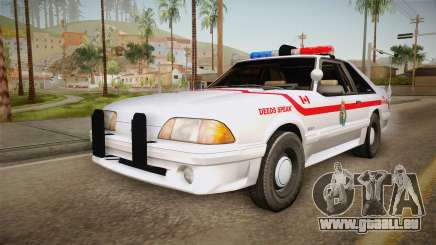 Ford Mustang SSP 1993 YRP für GTA San Andreas