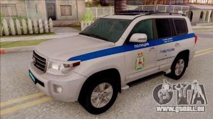 Toyota Land Cruiser 200 Russian Police für GTA San Andreas