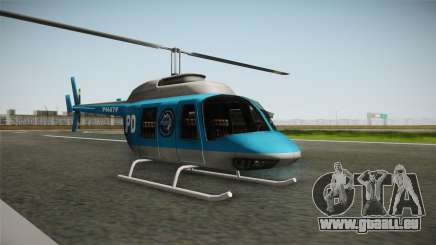Serbian Police Helicopter für GTA San Andreas