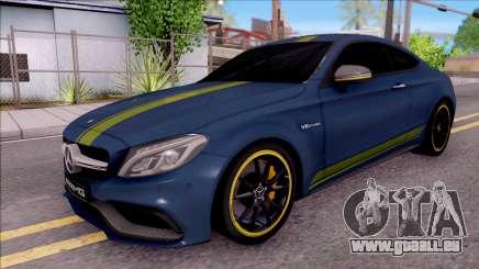 Mercedes-Benz C63S AMG Coupe 2016 v3 pour GTA San Andreas