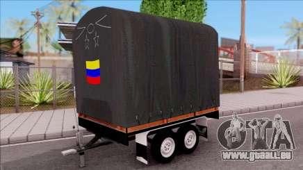 Remolque De Estacas pour GTA San Andreas