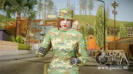 Gunrunning Female Skin pour GTA San Andreas