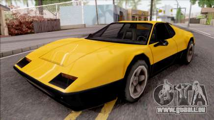 Cheetah 1976 pour GTA San Andreas