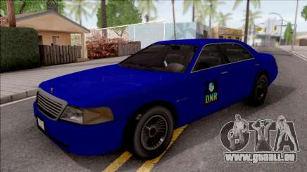 Dundreary Admiral SA Department of NR 2010 für GTA San Andreas