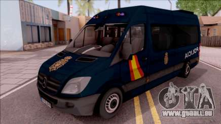 Mercedes-Benz Sprinter Spanish Police für GTA San Andreas