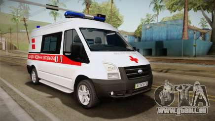 Ford Transit Ambulance de la ville de Kharkov pour GTA San Andreas