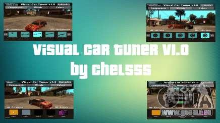 Visual Car Tuner v1.0 pour GTA San Andreas