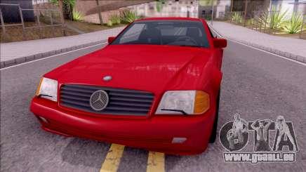 Mercedes-Benz 500SL R129 1989 für GTA San Andreas