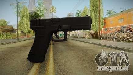 Glock 17 3 Dot Sight Cyan für GTA San Andreas