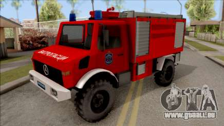 Mercedes-Benz Unimog Vatrogasna Kamion für GTA San Andreas