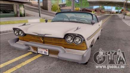 Plymouth Fury 1958 HQLM pour GTA San Andreas