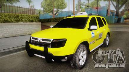 Renault Duster Taxi pour GTA San Andreas