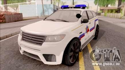Bravado Gresley Hometown PD 2011 für GTA San Andreas