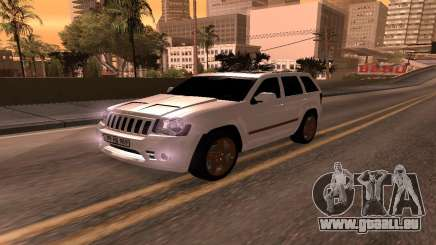 Jeep Grand Cherokee SRT8 Armenian für GTA San Andreas