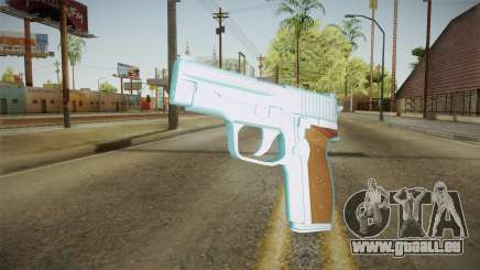 Chrome Sag Sauer P228 pour GTA San Andreas