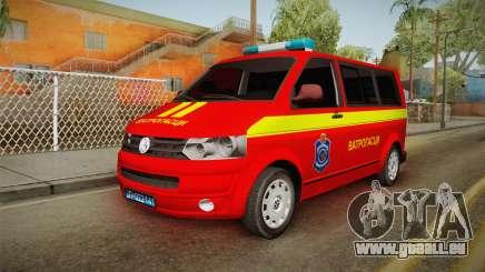 Volkswagen T5 Border Police für GTA San Andreas
