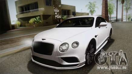 Bentley Continental SuperSport pour GTA San Andreas