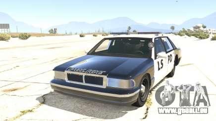 Voiture de Police de GTA San Andreas pour GTA 5