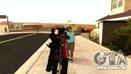 Une nouvelle vision pour les fusils et les bazookas pour GTA San Andreas